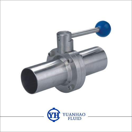 加长焊接球阀  Long welded butterfly valve